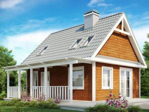 Проект дома из арболита А-3 в Вологде